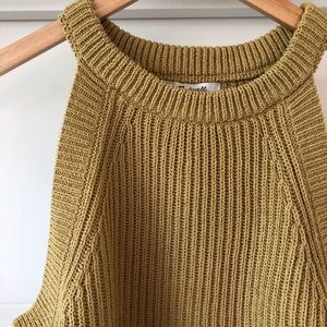 Madewell Tops - Madewell Cotton Knit Tank M